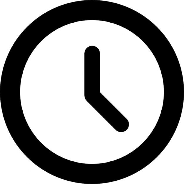 Znalezione obrazy dla zapytania ikona zegara