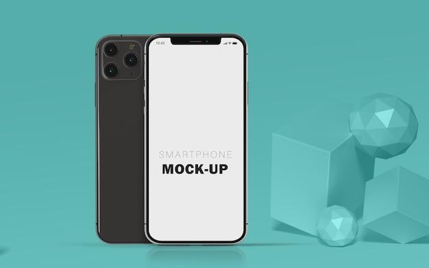 3d Makieta Telefonu Komórkowego Premium Bezpłatnie Premium Psd