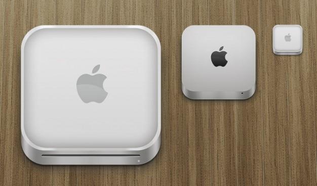 Apple mac mini ikony Darmowe Psd