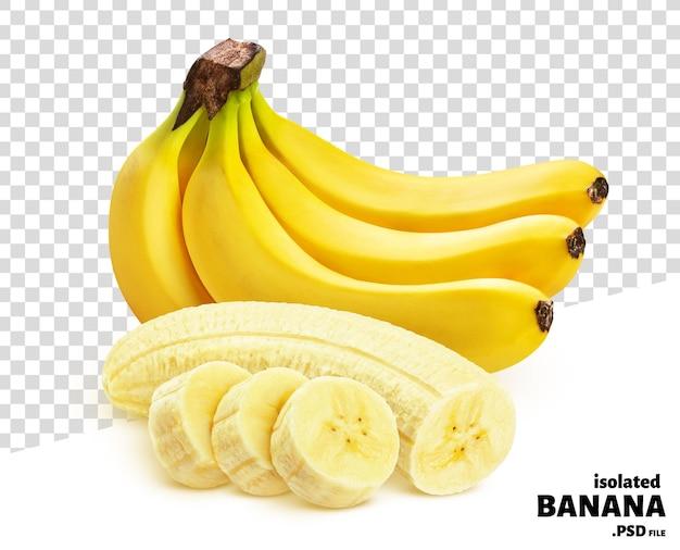 Banan Na Białym Tle Premium Psd