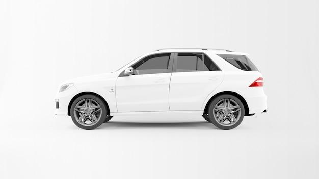 Biały Samochód Drogowy Darmowe Psd