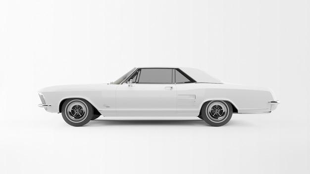 Biały Staroświecki Samochód Darmowe Psd