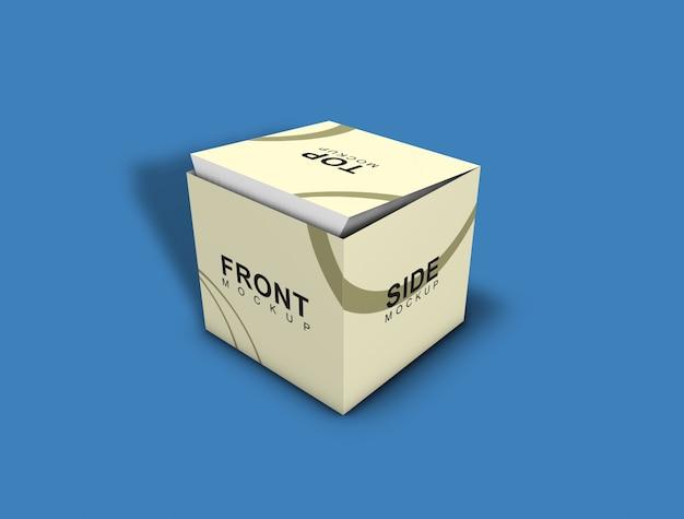 Box mockup - opakowanie Premium Psd
