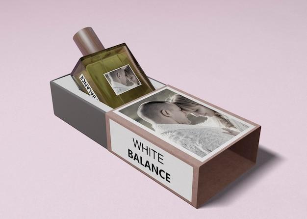 Butelka Perfum W Otwartym Pudełku Darmowe Psd