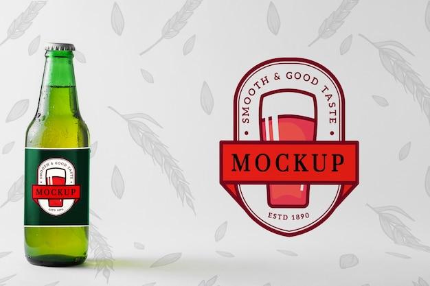 Butelka Piwa Z Makietowym Opakowaniem Darmowe Psd