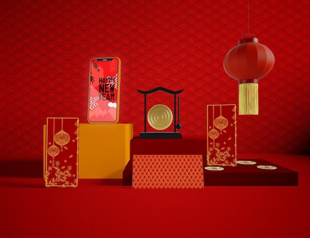 Chiński Tradycyjny Design Na Nowy Rok Darmowe Psd
