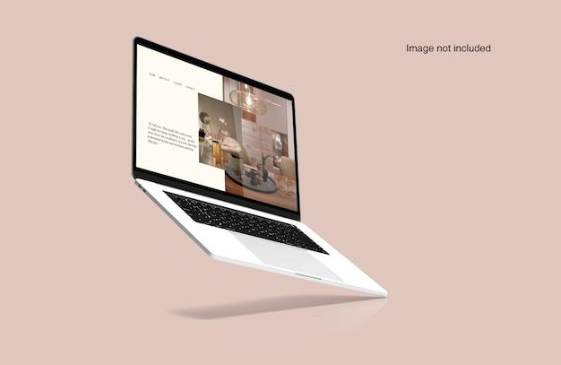 Cyfrowa Makieta Laptopa Premium Psd