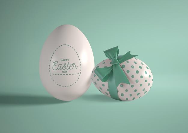 Czekoladowe Jajka Pakowane Na Wielkanoc Darmowe Psd