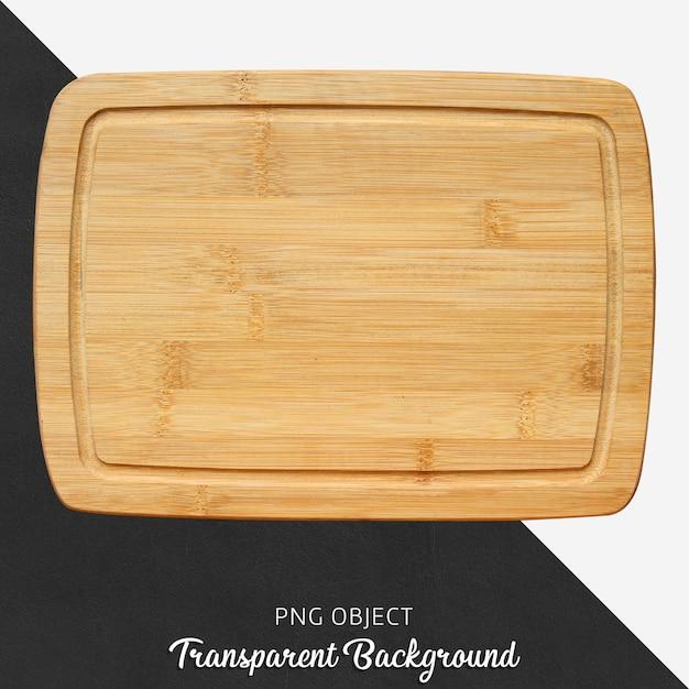 Deska do krojenia z przezroczystego drewna Premium Psd