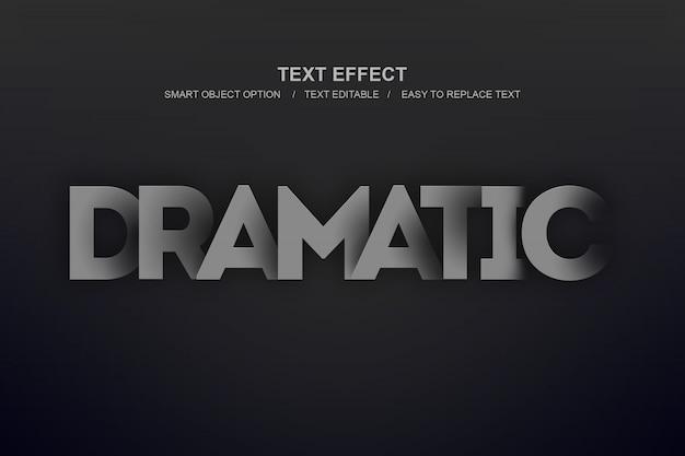 Dramatyczny Efekt Warstwy Premium Psd