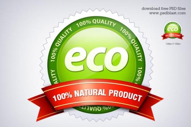 Eco Friendly Uszczelka Ikona Psd Darmowe Psd