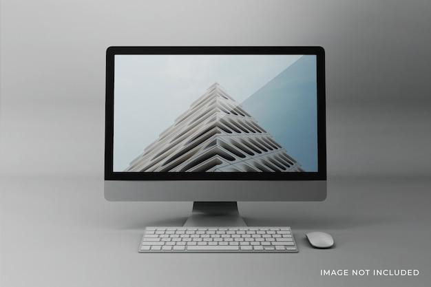 Edytowalny Projekt Makiety Ekranu Pulpitu Premium Psd