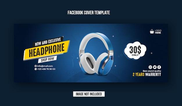 Ekskluzywny Szablon Banera Okładki Na Facebooku Premium Psd