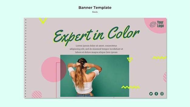 Ekspert W Kolorowych Szablonach Banerów Internetowych Darmowe Psd