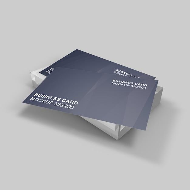 Elegancko Zaprojektowana Piękna I Klasyczna Makieta Wizytówki Premium Psd