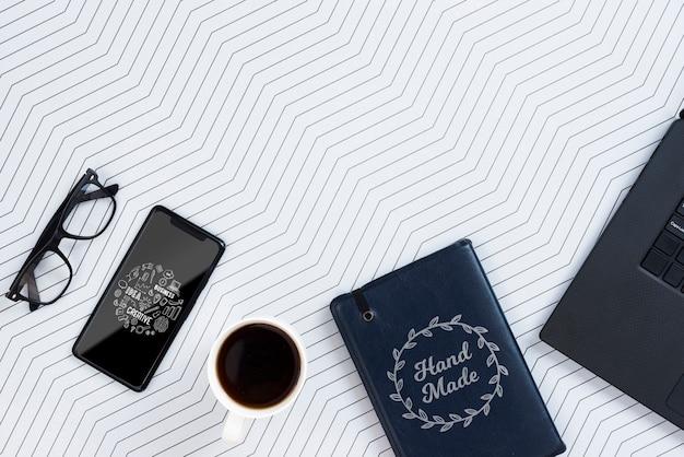 Elektroniczne urządzenie do kopiowania na biurku Darmowe Psd