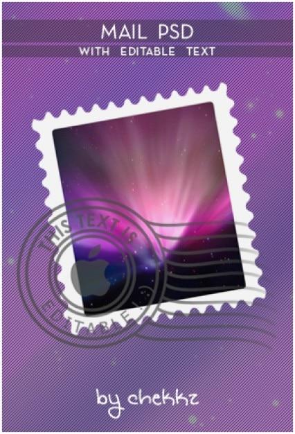 Email psd edytowalny tekst xd Darmowe Psd