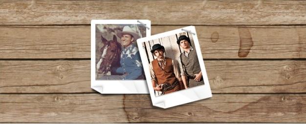Fotografia (polaroid) ramki na zdjęcia Darmowe Psd