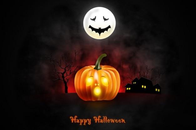 Halloween tapety dla ipada pulpitu dla iphone'a Darmowe Psd