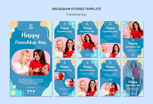 Historie Instagram Day Z Przyjaźni Darmowe Psd