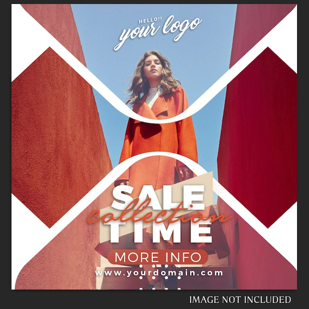 Instagram Post Template Do Sprzedaży, Zakupów, Sklepu, Kampanii, Koncepcji Kolekcji Premium Psd