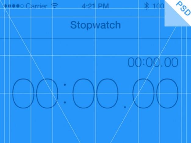 Iphone app sieci psd niebieski Darmowe Psd