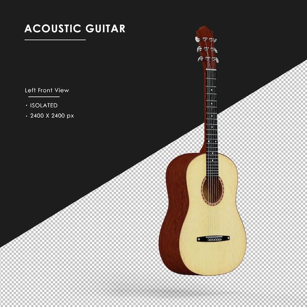 Izolowane Gitara Akustyczna Pływające Izolowane Premium Psd