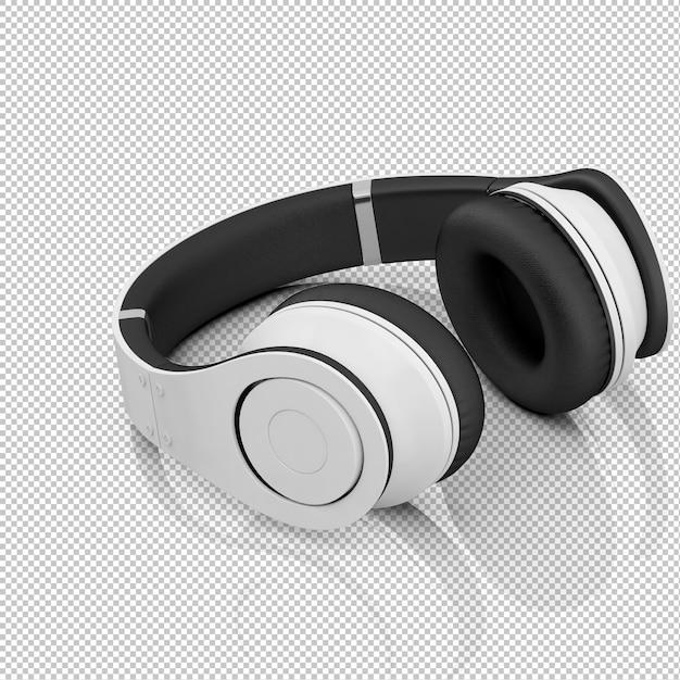 Izometryczne Słuchawki Premium Psd