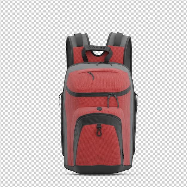 Izometryczny plecak Premium Psd