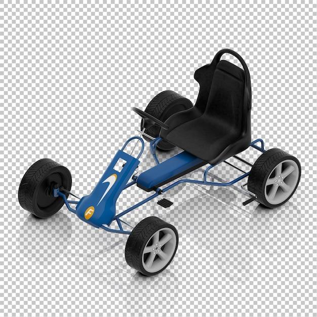 Izometryczny Samochód Dla Dzieci Premium Psd
