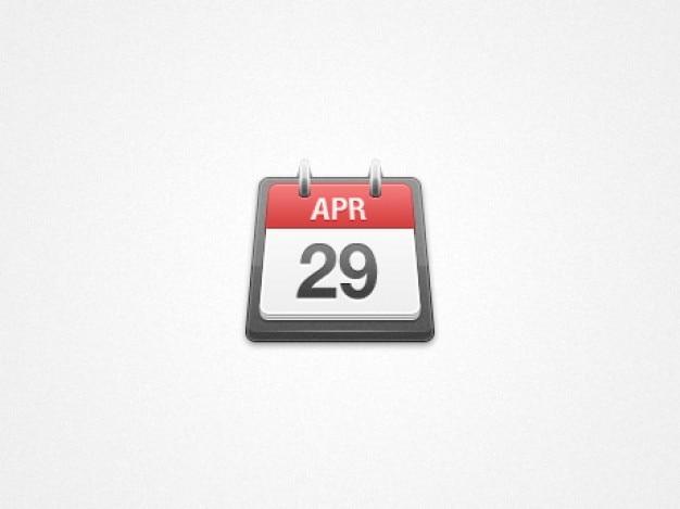 Kalendarz ikona Darmowe Psd