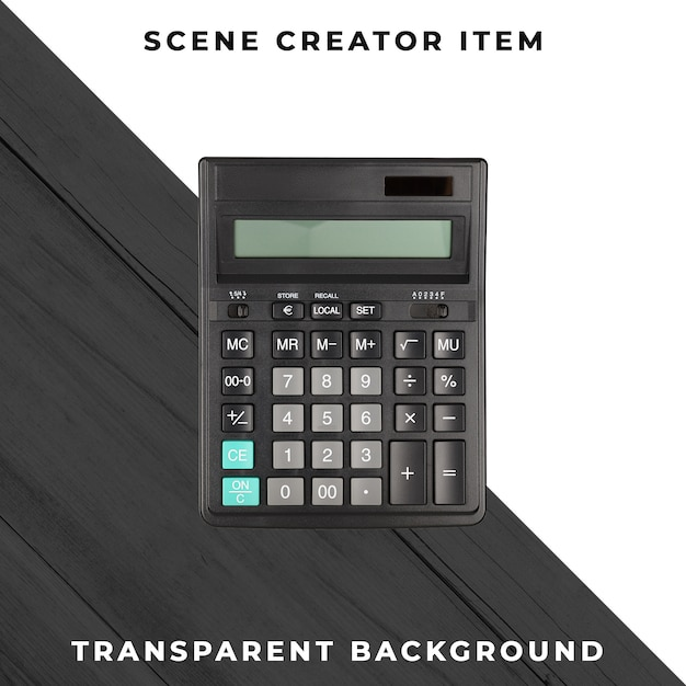 Kalkulator Przezroczysty Psd Darmowe Psd
