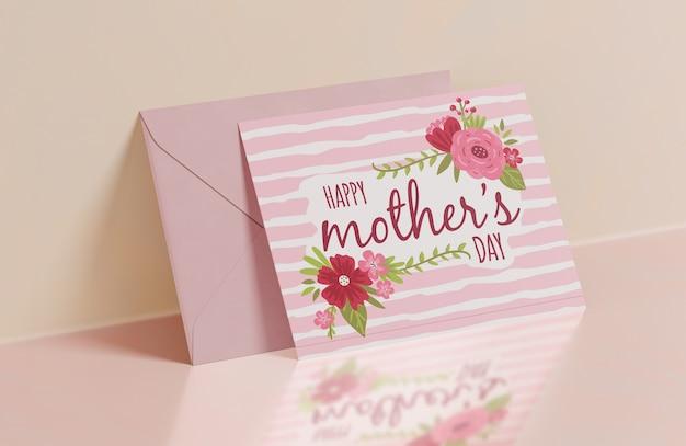 Kartkę Z życzeniami Dzień Matki Szczegół Darmowe Psd