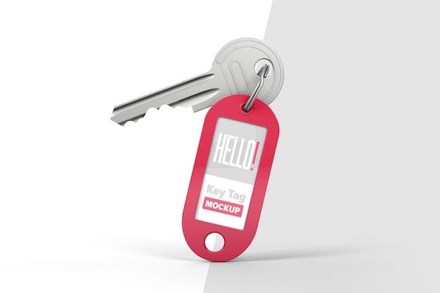 Klucz Z Makietą Breloczka Premium Psd