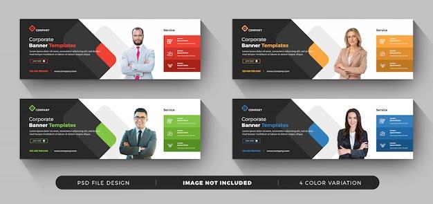 Kolekcja Banerów Biznesowych Premium Psd