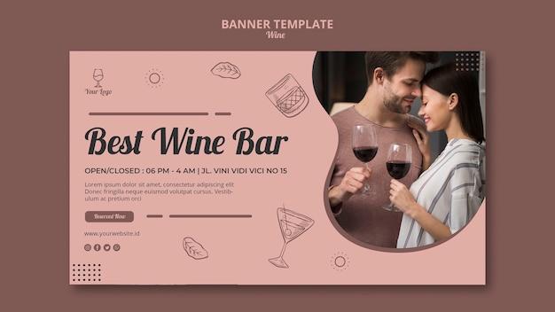 Koncepcja Transparent Wino Dla Szablonu Darmowe Psd