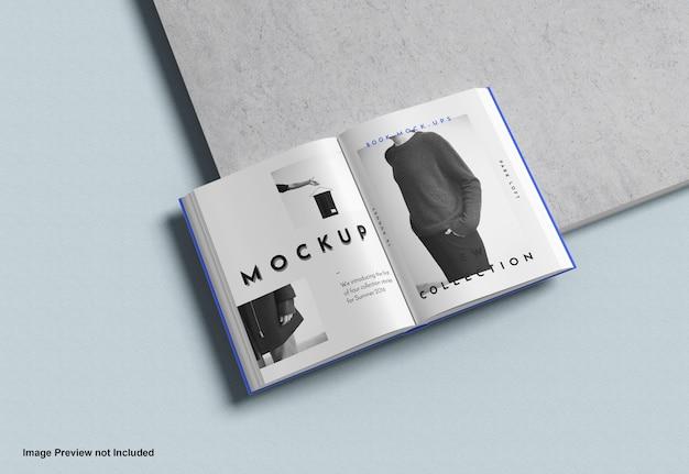 Książka Makieta Premium Psd