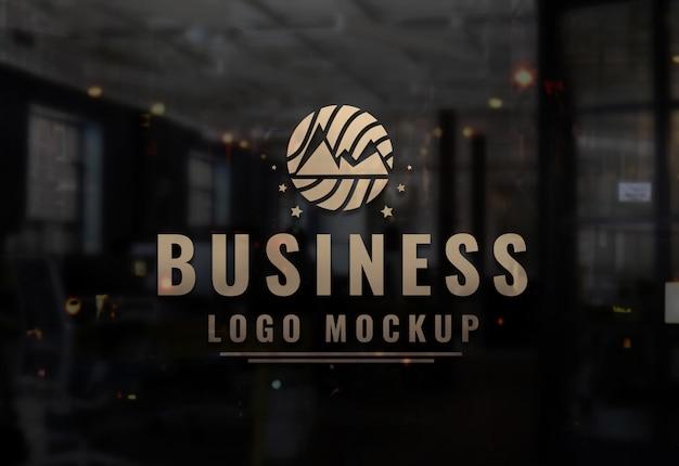 Logo firmy makieta logo psd firmy Premium Psd