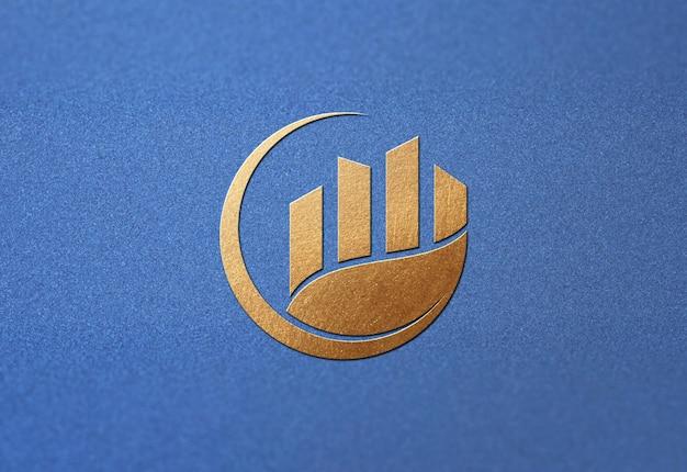 Logo Piękny Projekt Makiety Na Białym Tle Premium Psd