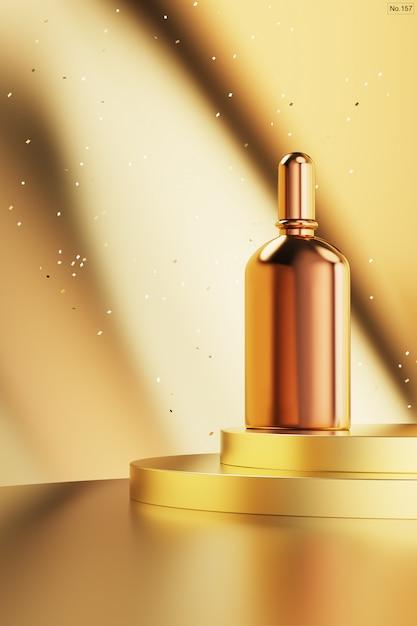 Luksusowy Produkt Na Złotym Podium Premium Psd