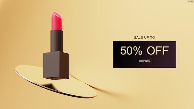 Luksusowy Transparent Sprzedaż Szminki Premium Psd