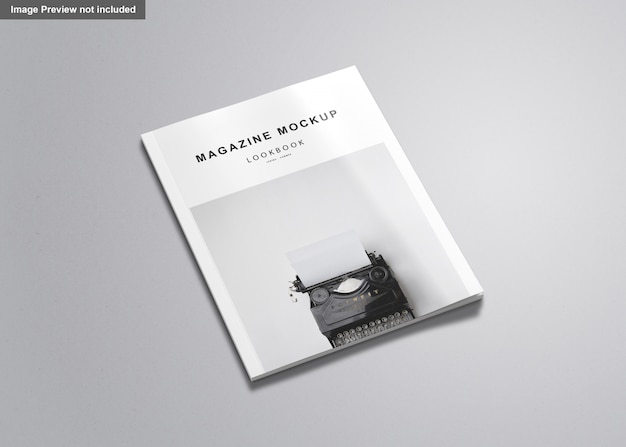 Magazyn Listowy Mockup Premium Psd