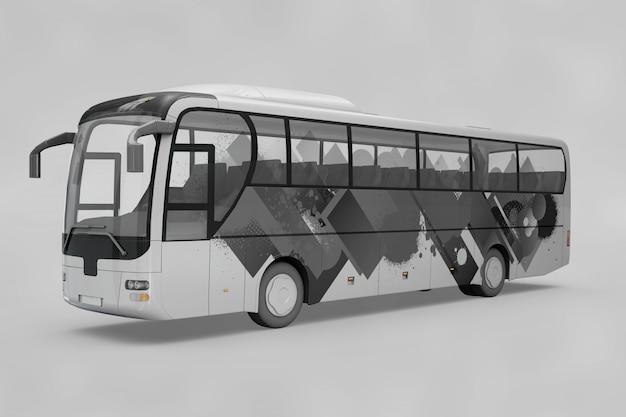 Makieta autobusu Darmowe Psd