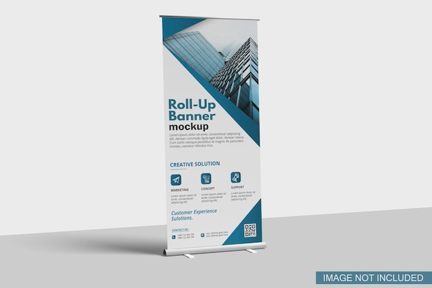 Makieta Banera Roll-up Premium Psd