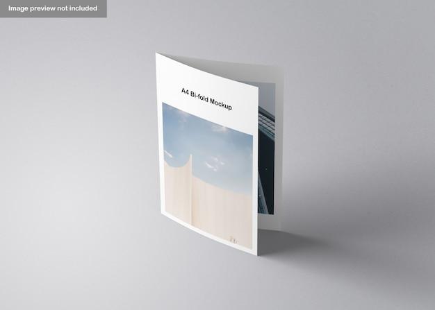 Makieta Broszury A4 Bifold Premium Psd