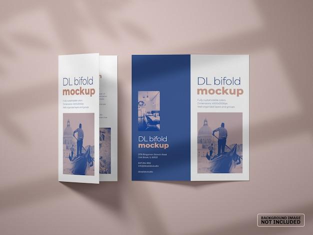 Makieta Broszury Dl Bifold Premium Psd