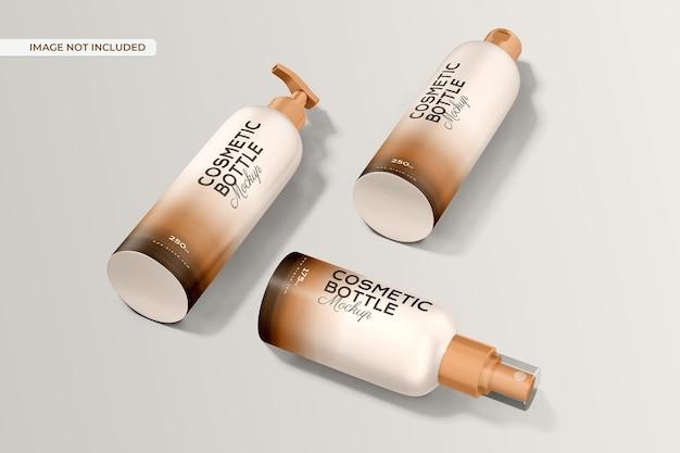 Makieta Butelki Kosmetycznej Darmowe Psd
