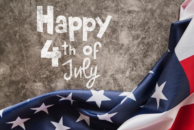 Makieta Copyspace Na Dzień Niepodległości Usa Darmowe Psd