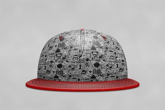 Makieta czapki z daszkiem z przodu Darmowe Psd