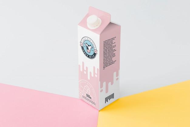 Makieta Do Pakowania Mleka Darmowe Psd